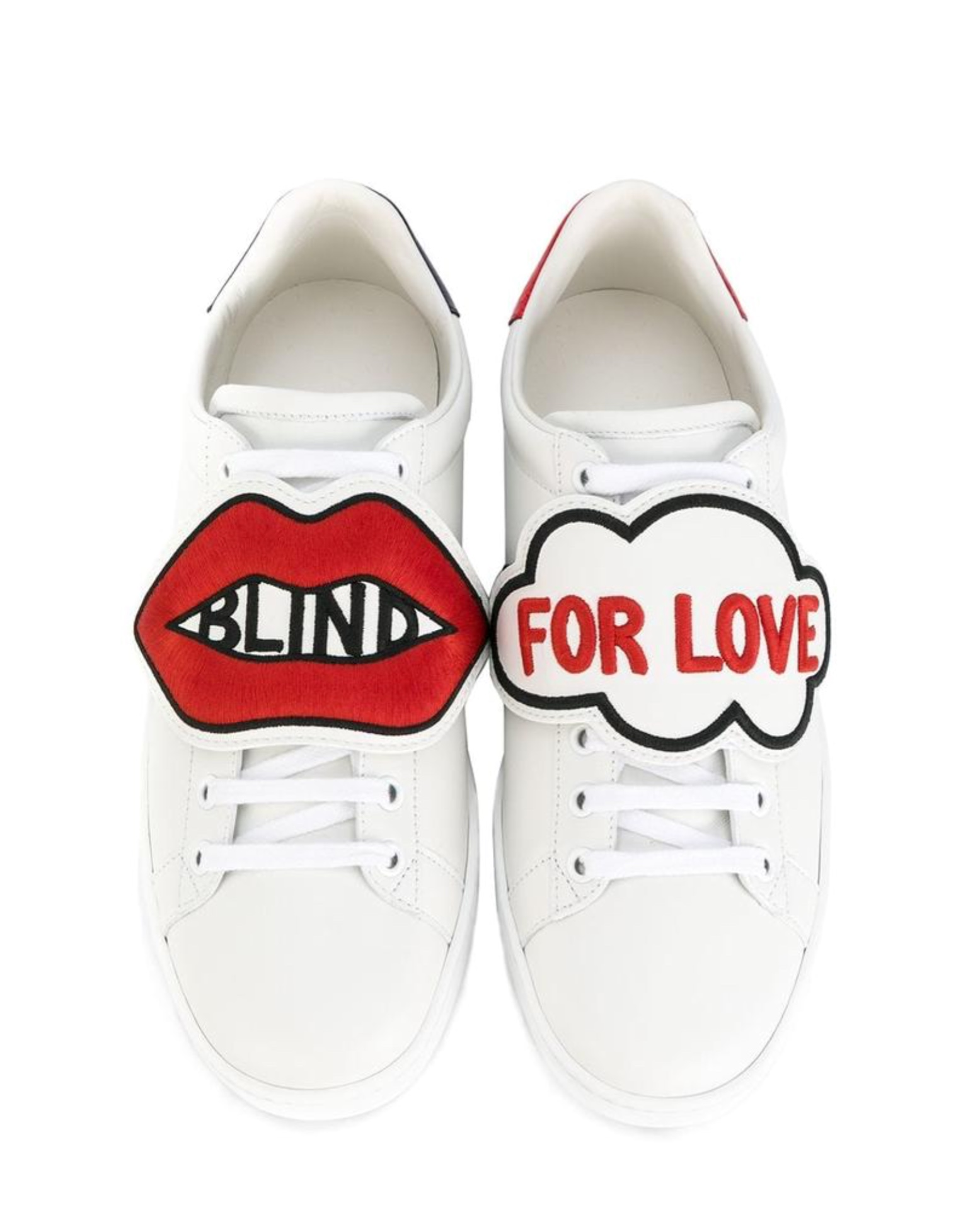 Gucci Blind for love sneakers - Not